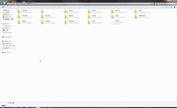 WindowsでのNexus7内部フォルダーの表示