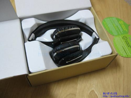 Bluetoothヘッドホン AUSDOM M07 ブラック開封