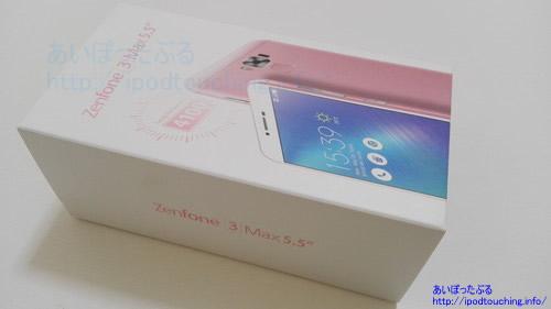 Zenfone 3 MAX(zc553kl)外箱
