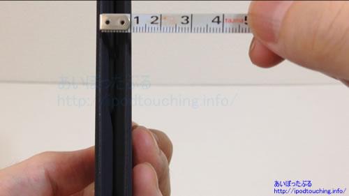 iClever Bluetoothキーボード IC-BK06幅1cm