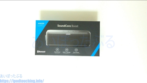 Anker SoundCore Boost外箱