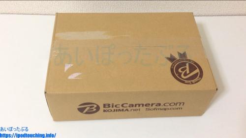 Zenfone Max Pro M1(ZB602KL)楽天ビックの段ボール