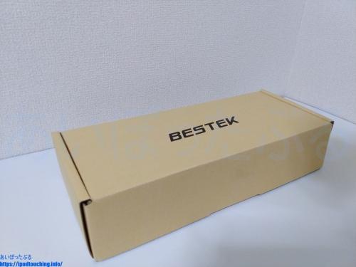 モニターアーム BESTEK(ベステック)BTSS01BK の外箱